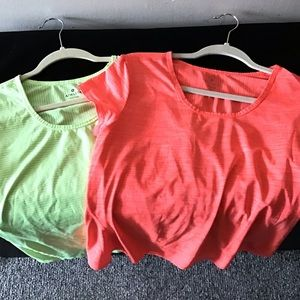 Athleta active tee. Lot of 2. Large